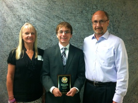 KJO Scholarship recipient from Hinsdale Central for 2013