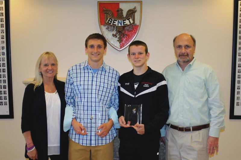 Two Benet students awarded KJO Scholarship