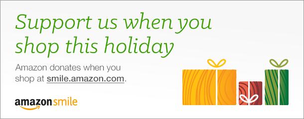 Shop for a cause through Amazon Smile!