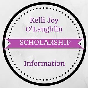 Kelli Joy O'Laughlin Memorial Scholarships for 2016