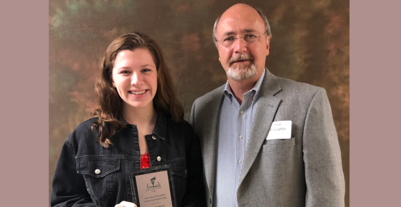 Announcing KJO Memorial Scholar from Hinsdale Central, Grace Kennedy