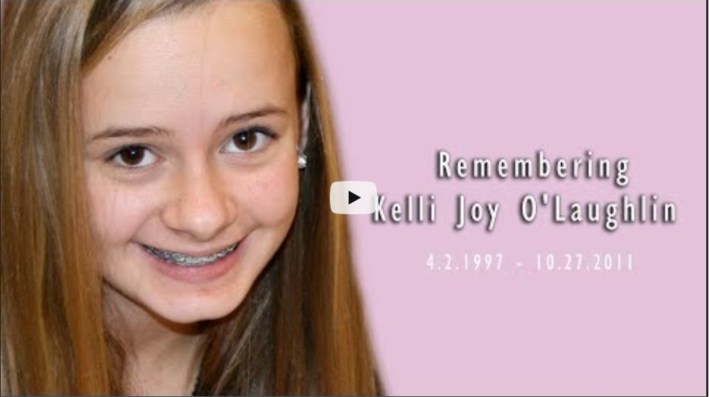 Remembering Kelli Joy O'Laughlin – 8 years on