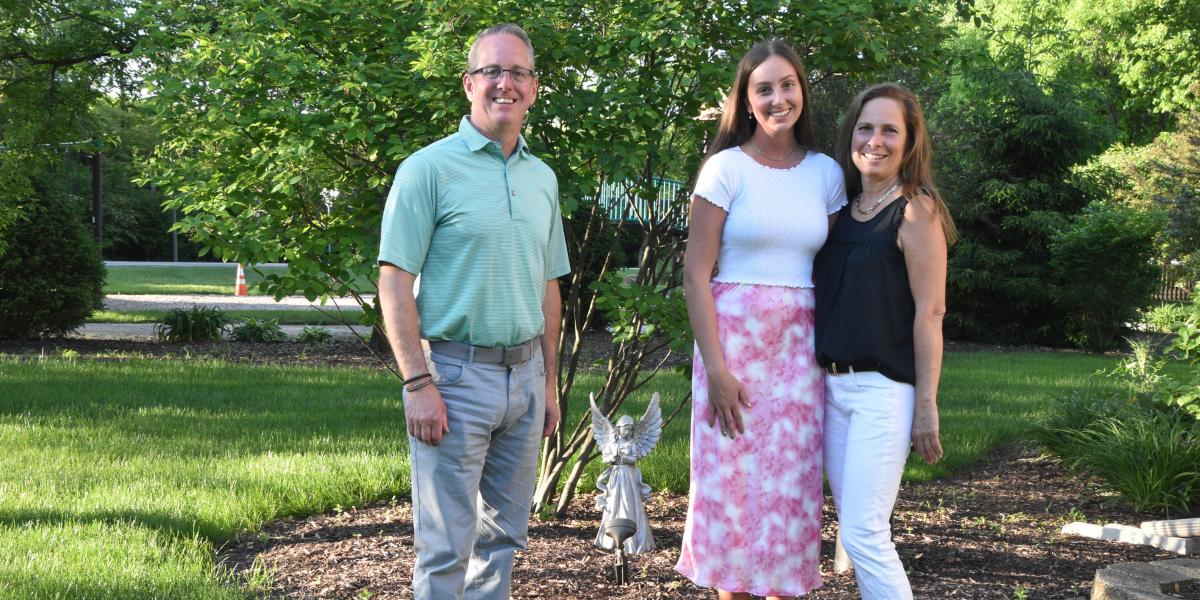 Announcing KJO Memorial Scholar from Nazareth Academy for 2021, Sara Jayne Weidner