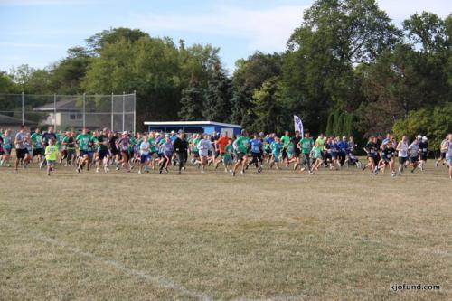 Run For Kelli 2017 - Runners Get Ready!